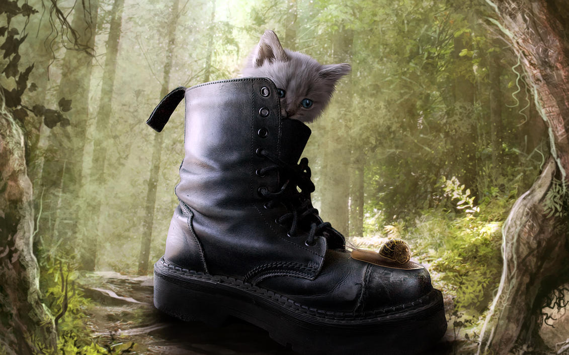 Puss in boot by MachiavelliCro