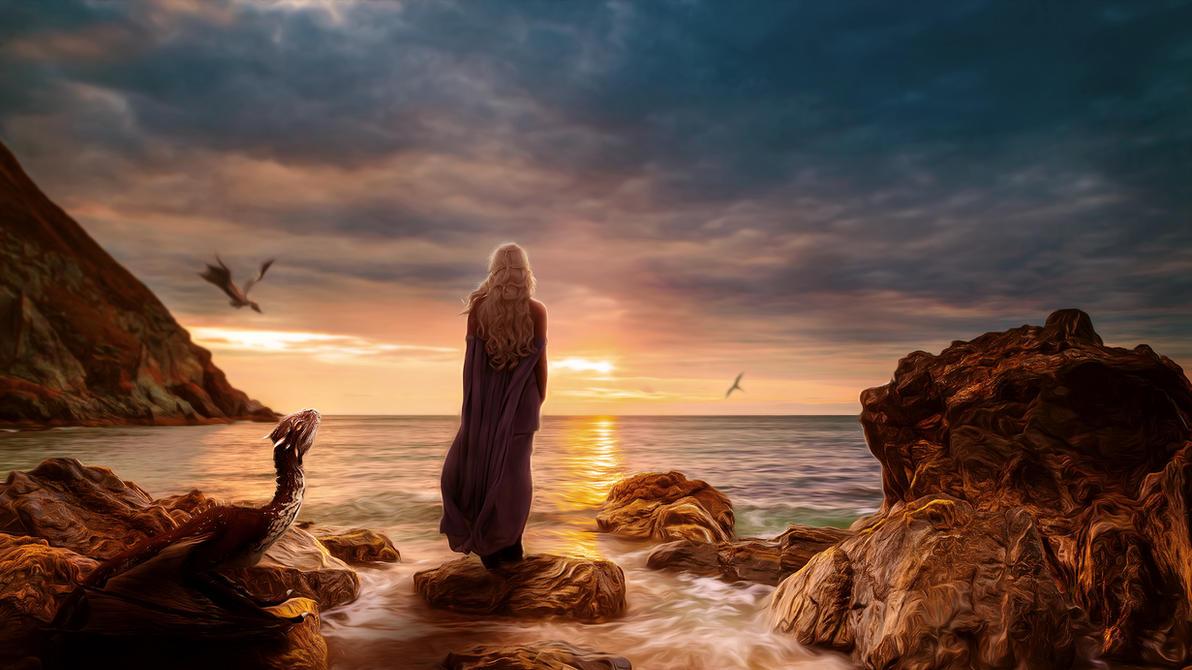 Daenerys by MachiavelliCro