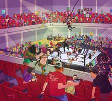 Women's Wrestling by Fakieflps