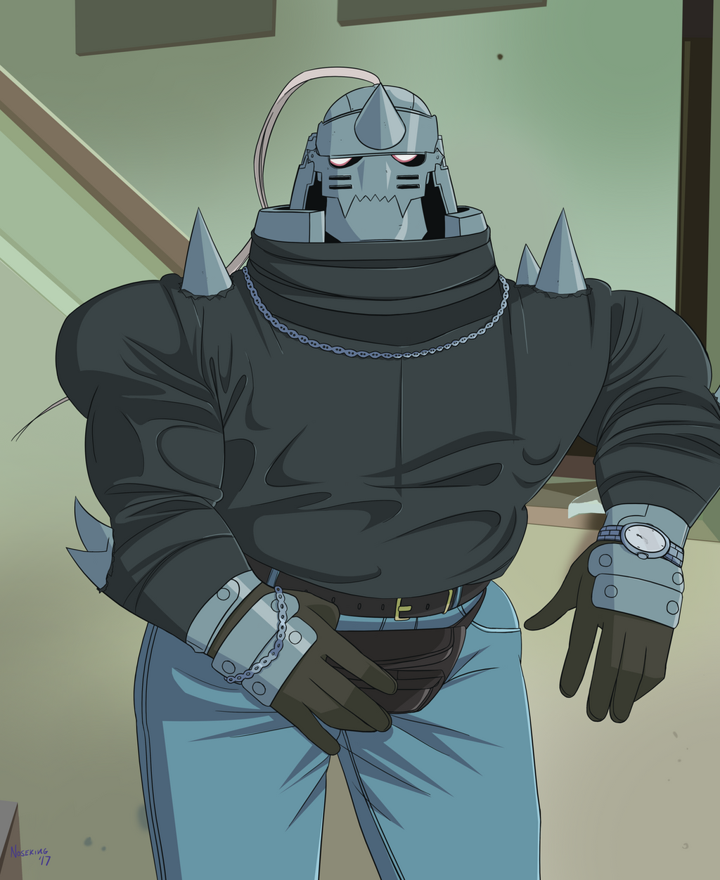Alphonse Elric And His Fanny Pack By Fakieflps On DeviantArt