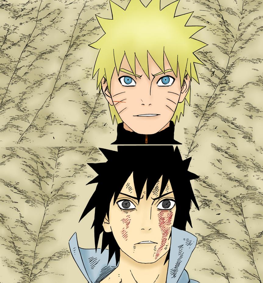 Naruto Y Sasuke 486 By Silverkeeper01 On Deviantart: Because You're My Friend By Samej-eh On DeviantArt