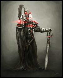 Eldar Warlock by UltimaFatalis