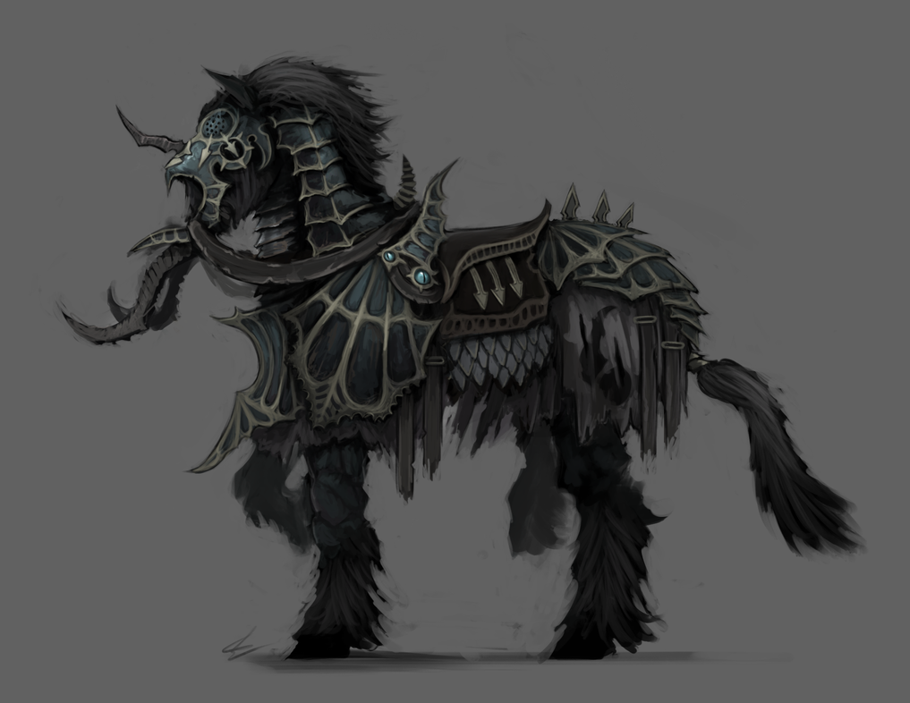 Chaos Steed By UltimaFatalis On DeviantArt