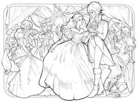 goblin ballroom by audreymolinatti