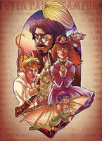 peter pan steampunk by audreymolinatti