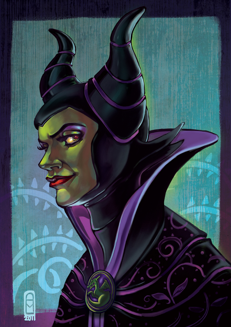 maleficent by audreymolinatti
