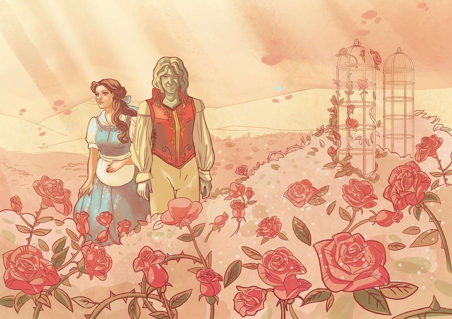 roses by audreymolinatti
