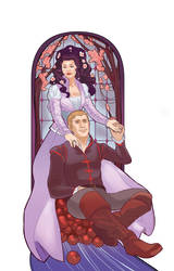 once upon a time snow/charming