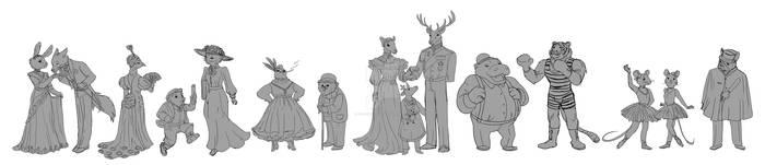 belle epoque characters