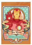 fangirls tea Iron man