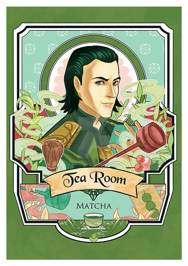 fangirls tea Loki by audreymolinatti