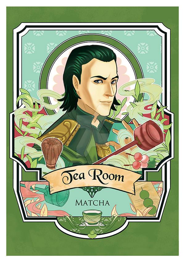 fangirls tea Loki