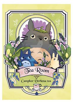Fangirl tea totoro