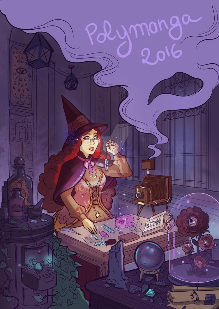 witch laboratory by audreymolinatti