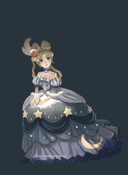 sailor moon baroque