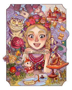 Alice in wonderland Russia