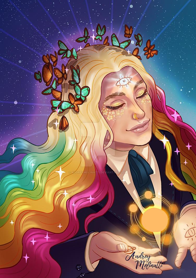 Kesha by audreymolinatti