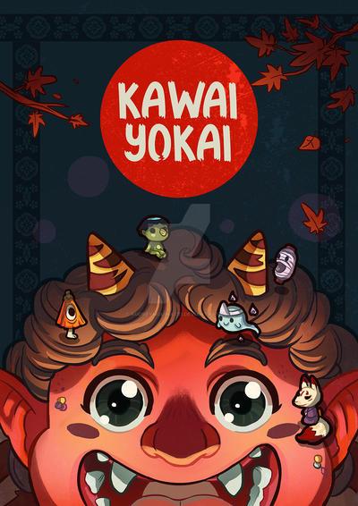 Yokai kawai artbook  pre order by audreymolinatti