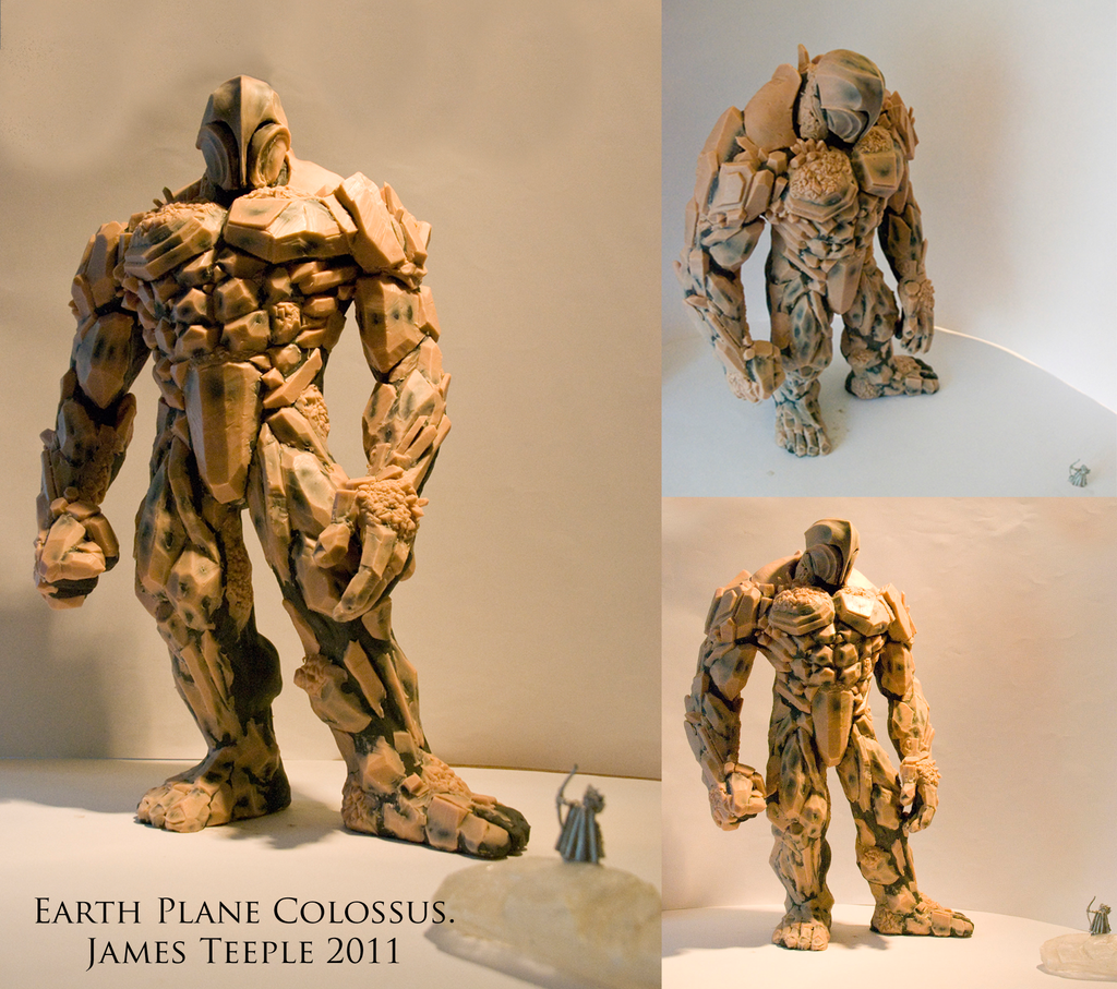 Earth Plane Colossus by Dream-of-This