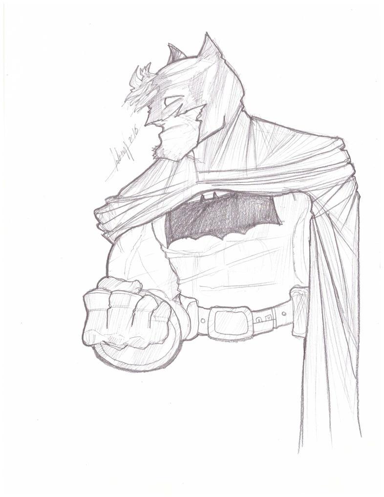 Batman  TDKR by AbnerLanderosArt