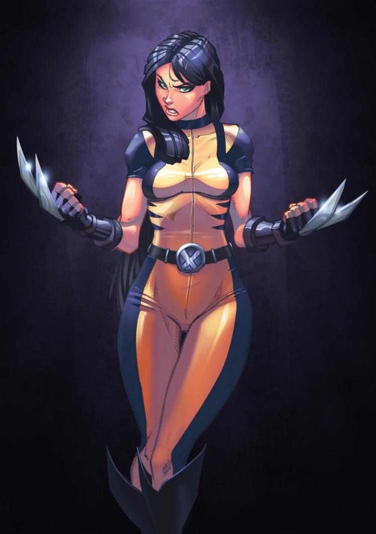 X-23 colors by Chokorroll