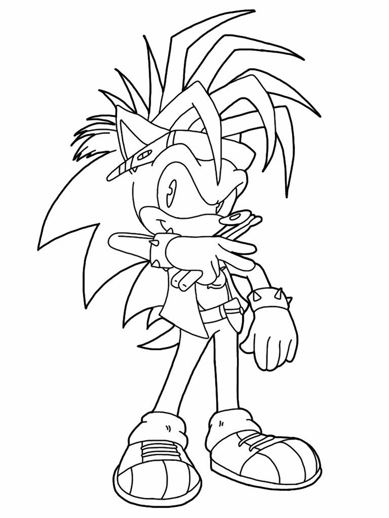 Coloring ''Manic the hedgehog'' by Tihaya187 on DeviantArt