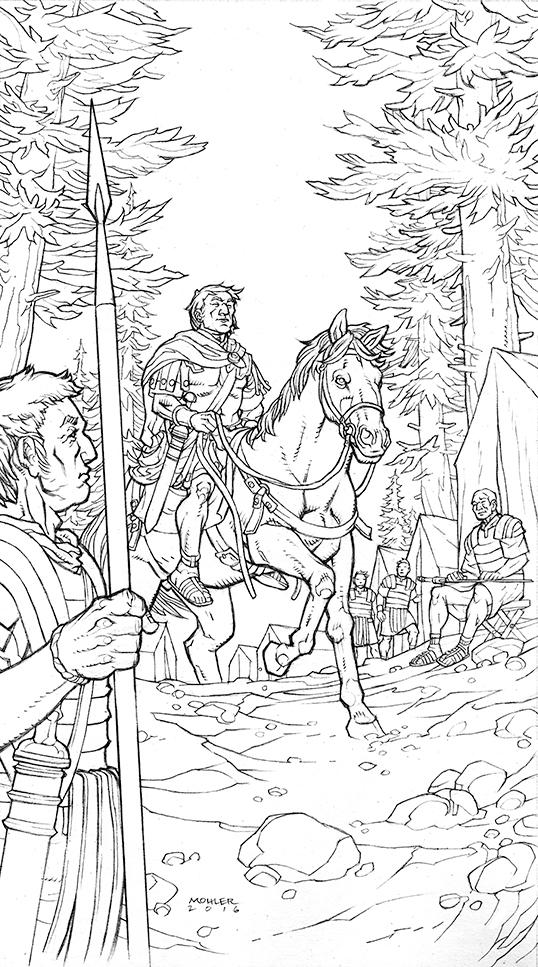 Caesar and the Battle of Alesia Page 01