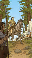 Caesar and the Battle of Alesia Page 01 Colors