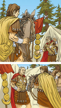 Caesar and the Battle of Alesia Page 02 Colors