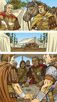 Caesar and the Battle of Alesia Page 03 Colors