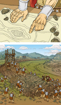 Caesar and the Battle of Alesia Page 04 Colors