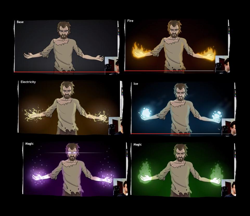 Draw With Jazza How To Draw Elemental Magic By Lovz2draw