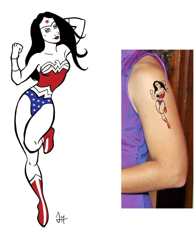 Wonder Woman for Moonbeam13 by Majnouna