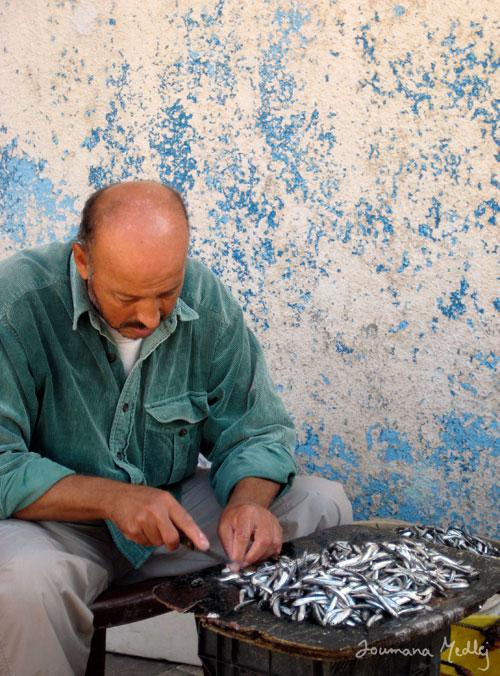 Fisherman's morning by Majnouna