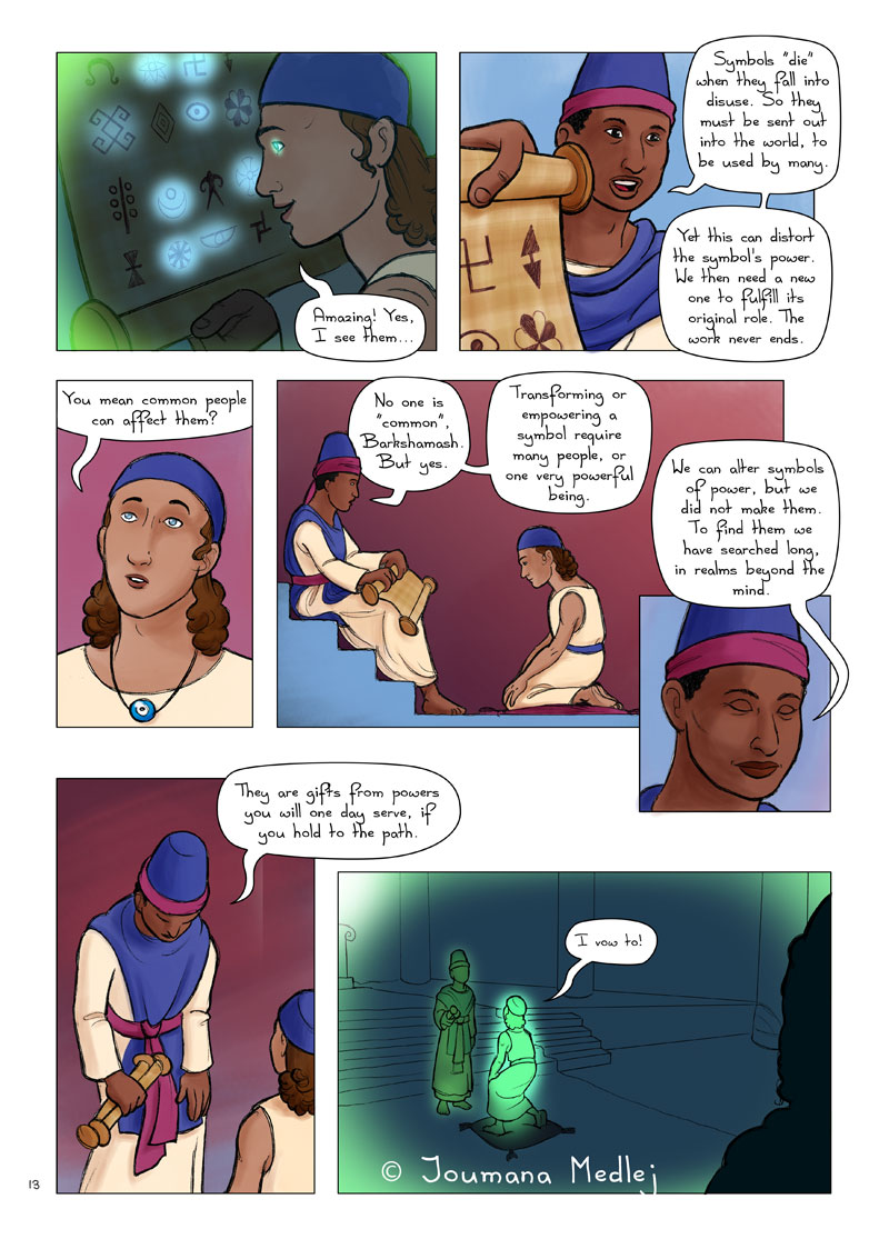 Malaak IV p13 by Majnouna