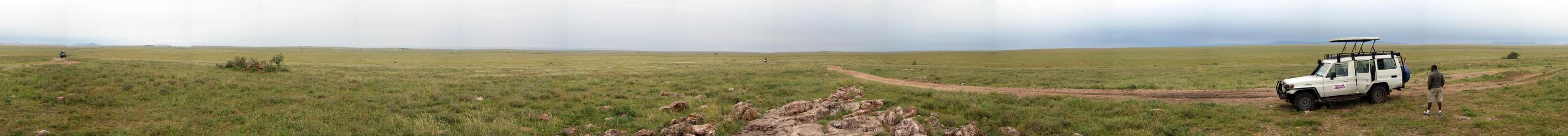 Serengeti panorama 360 by Majnouna