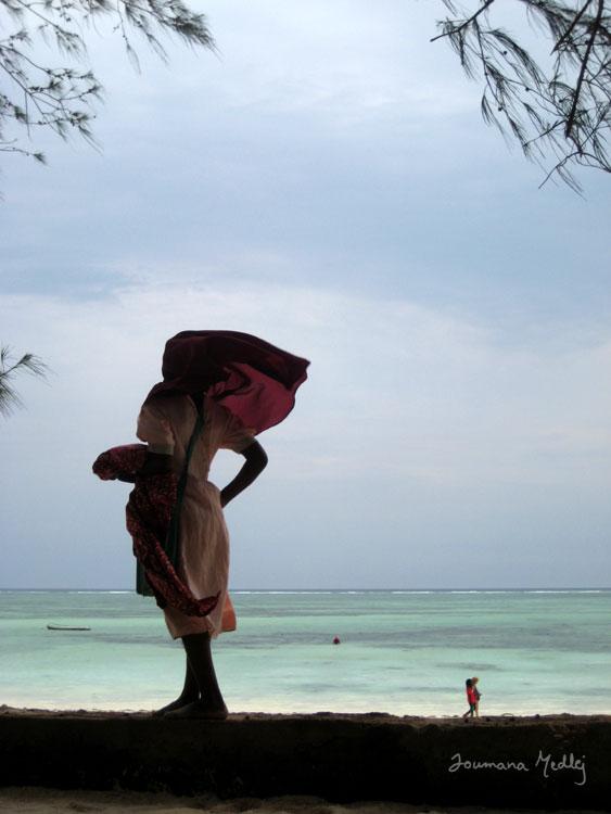 Windy day in Zanzibar by Majnouna