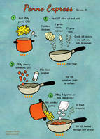 Quick food: Penne Express by Majnouna