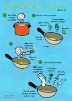 Quick food: Garlic mushrooms in yoghurt by Majnouna