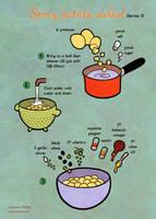 Quick food: Spicy potato salad by Majnouna