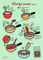 Quick food: Chorizo pasta by Majnouna