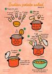 Quick food: Indian potato salad