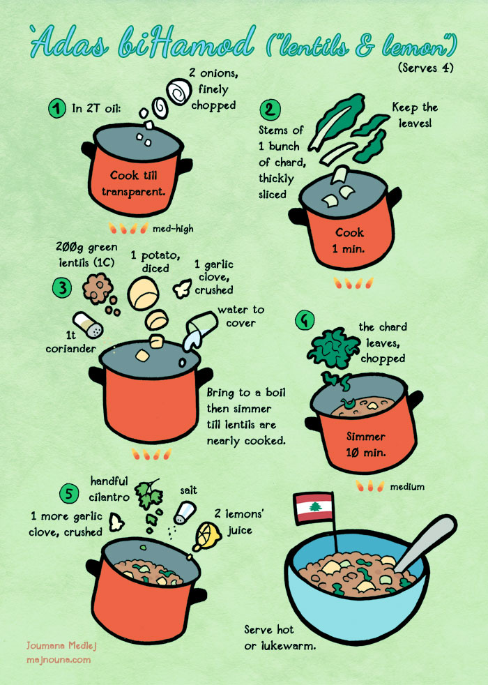 Quick food: Lebanese lentil soup by Majnouna