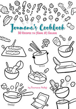 Joumana's Cookbook to color...