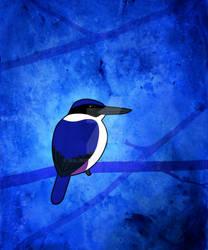 Ultramarine kingfisher