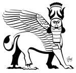 Lamassu tattoo