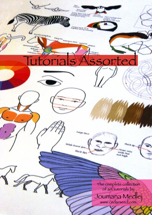 Book Cover Drawing Lessons : Tutorials assorted book cover by majnouna on deviantart