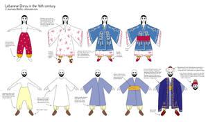 Lebanese dress - 16th century