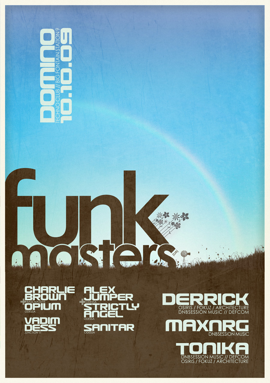 Funk Masters by pixel-junglist