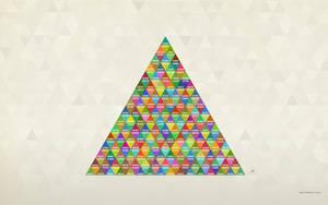 Triangle Wallpaper by pixel-junglist